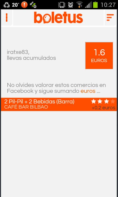 BOLETUS. Ofertas sin Cupones. - screenshot