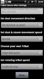 Tribal Tattoos Wars LWP- screenshot thumbnail