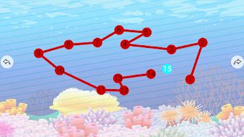 Screenshot of Kids Connect Dots Animals Free