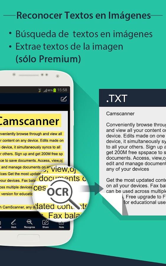 CamScanner - PDF Creator,Fax: captura de pantalla