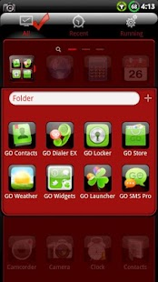 Finesse GO Launcher EX Theme - screenshot thumbnail
