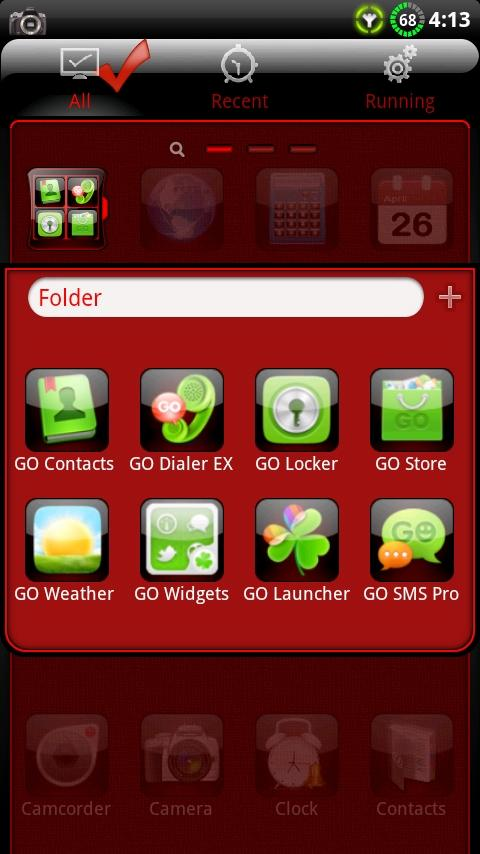 Finesse GO Launcher EX Theme- screenshot