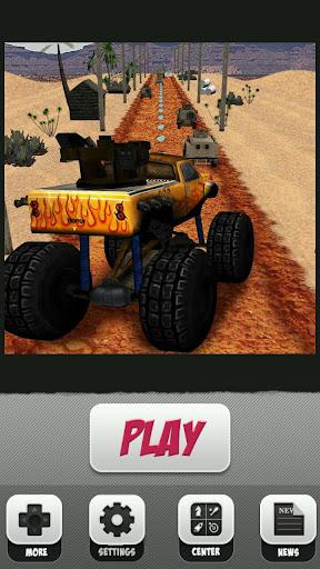 Monster Truck Racing Highway