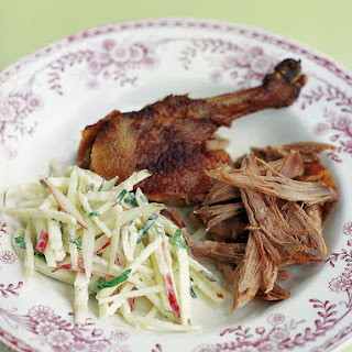 Slow-roasted Duck With Celeriac Remoulade.