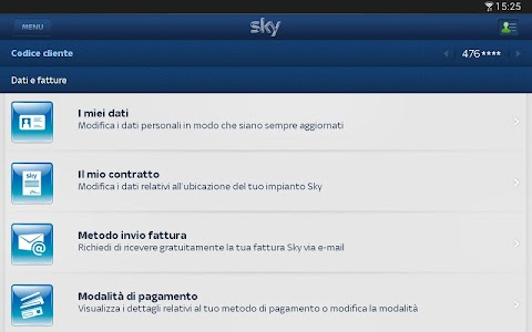 Sky Fai da te per Tablet screenshot 3