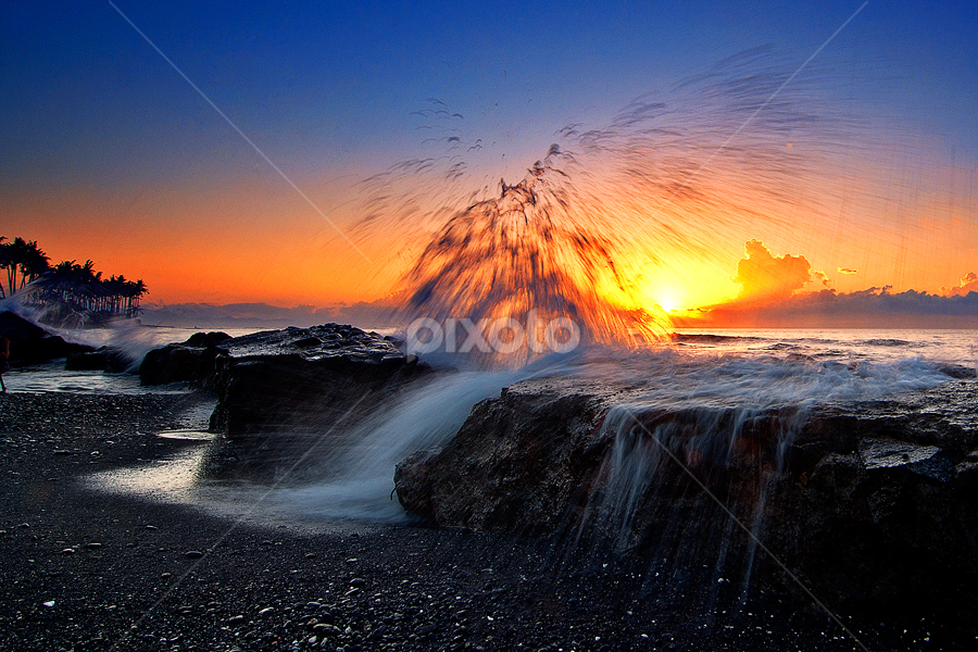 Manyar in Action by TEDDY ZUSMA - Landscapes Sunsets & Sunrises