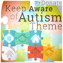 Keep Aware of Autism Theme