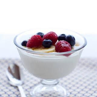 Greek Yogurt.