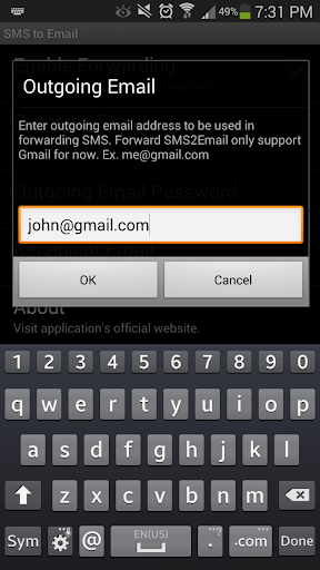 【免費通訊App】SMS to Email Forwarder-APP點子