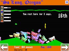 Screenshot of So Long, Oregon!