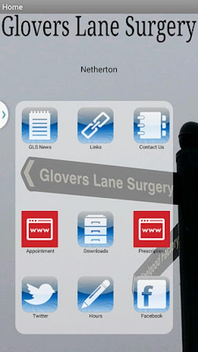 Glovers Lane Surgery App