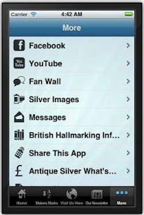 Antique Silver Makers Marks - screenshot thumbnail