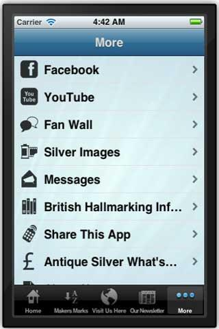 Antique Silver Makers Marks - screenshot