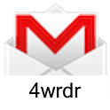Gmail 4wrdr logo