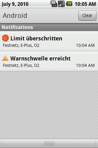 Welches Netz? - screenshot