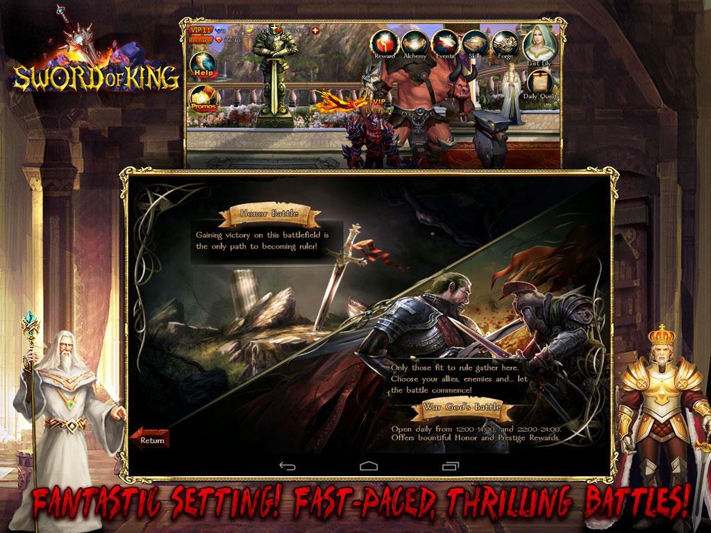 Sword of King : Excalibur- screenshot