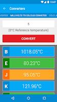 Screenshot of Thermocouples