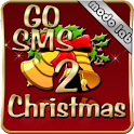 Christmas 2 theme GO SMS Pro icon