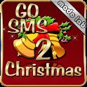 Christmas 2 theme GO SMS Pro logo