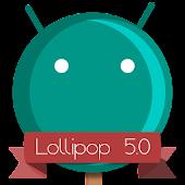 Lollipop 5.0 CM11/PA Theme