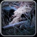 Sniper hero zombie headshot icon