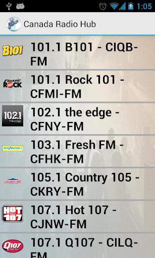 Canada Radio Hub