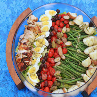 Grilled Chicken Niçoise Salad