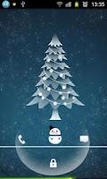Screenshot of Snowman - Magic Locker Theme