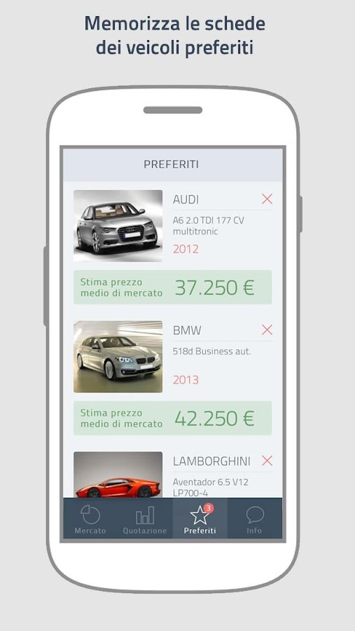 PriceGuru - Quotazioni auto- screenshot