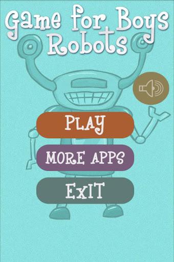 男の子のためのゲーム - ロボット