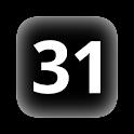 MY dates on status bar icon