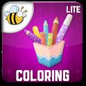 Kids Coloring Book Lite icon
