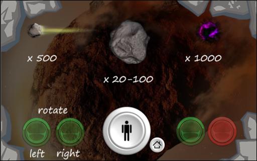 Asteroids 3D Powerup