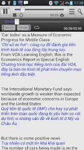 Luyen Nghe Tieng Anh VOA - screenshot thumbnail