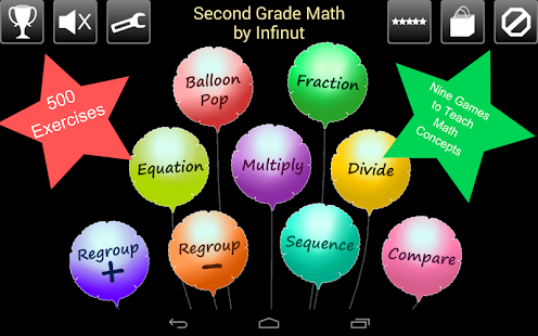 Second Grade Math - screenshot thumbnail