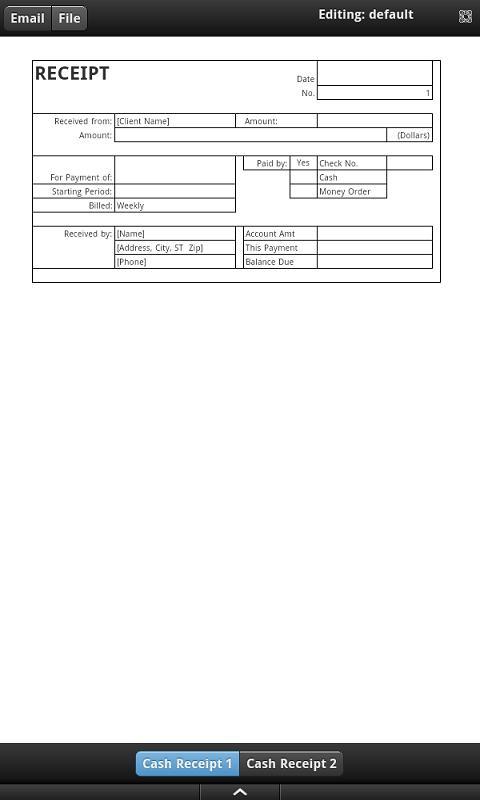 Cash Receipt Google Play Store revenue download estimates US – Simple Cash Receipt
