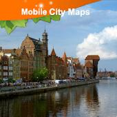 Gdansk Street Map