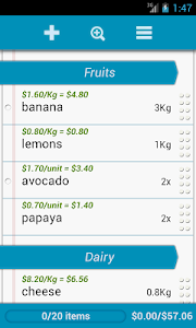 Grocery List screenshot 3
