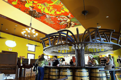 Miami-Schnebly-Winery-Interior-Tasting-bar - The Schnebly Winery tasting room in Miami.