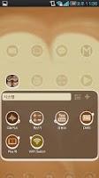 Screenshot of Coffee cup Go Adw Theme Lite