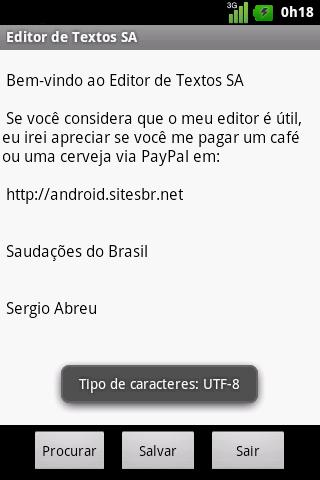 SA Text Editor Beta