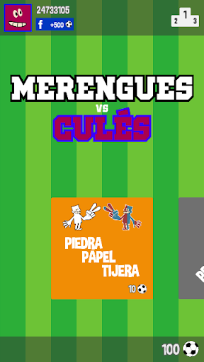 Merengues vs Culés
