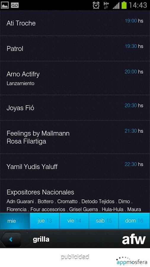 afw Paraguay - screenshot