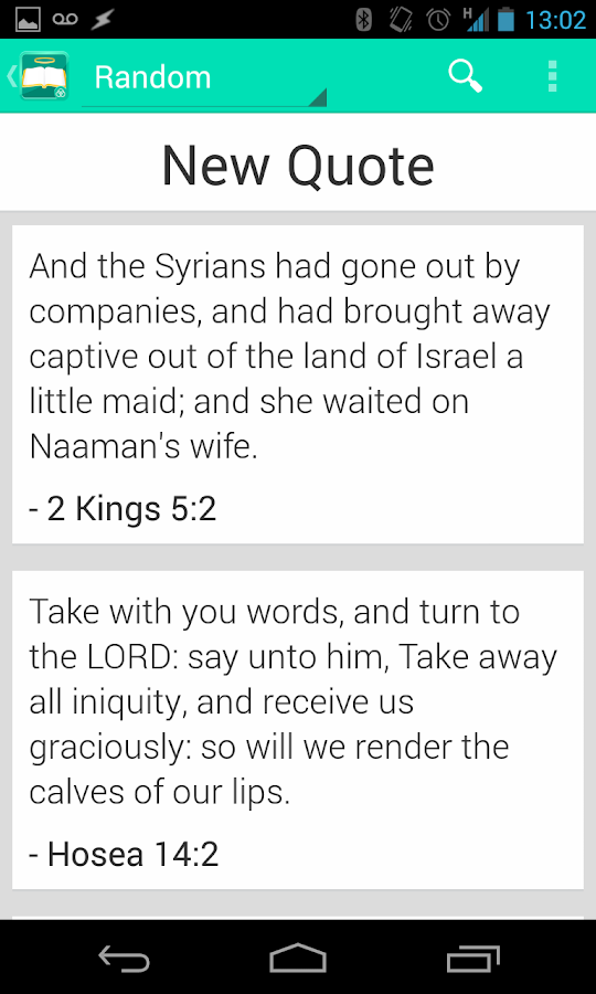 Holy Bible- screenshot