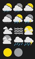 Screenshot of MYCW Weather Theme - GoogleNow