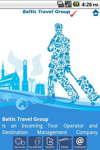 Baltic Travel Group - screenshot