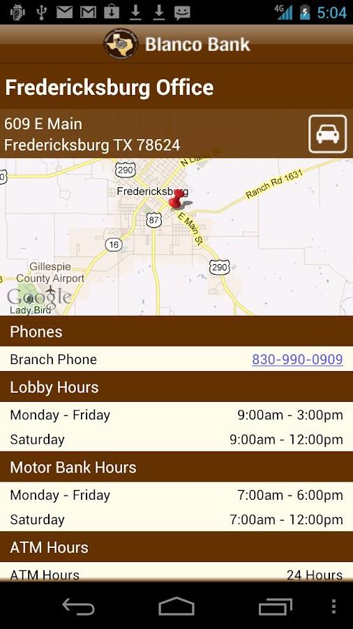 Blanco Bank - screenshot