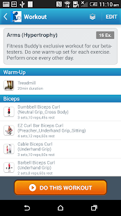Fitness Buddy : 300+ Exercises- screenshot thumbnail