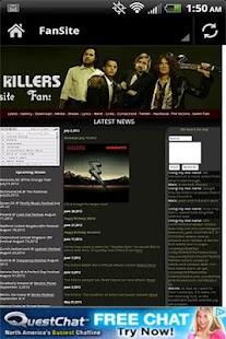 The Killers News Videos Music - screenshot thumbnail