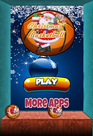 Christmas basket ball